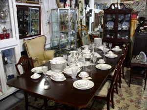 Lovely Antique Wood Dining Sets Maryland