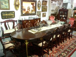 A Real Find Antiques Carroll County Md Antique Mahogany Wood Dining
